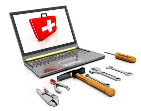 چند روش ساده برای تعمیر لپ تاپ