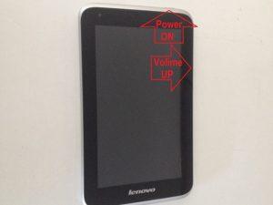 نحوه پشتیبان گیری تبلت لنوو Lenovo Ideatab A1000