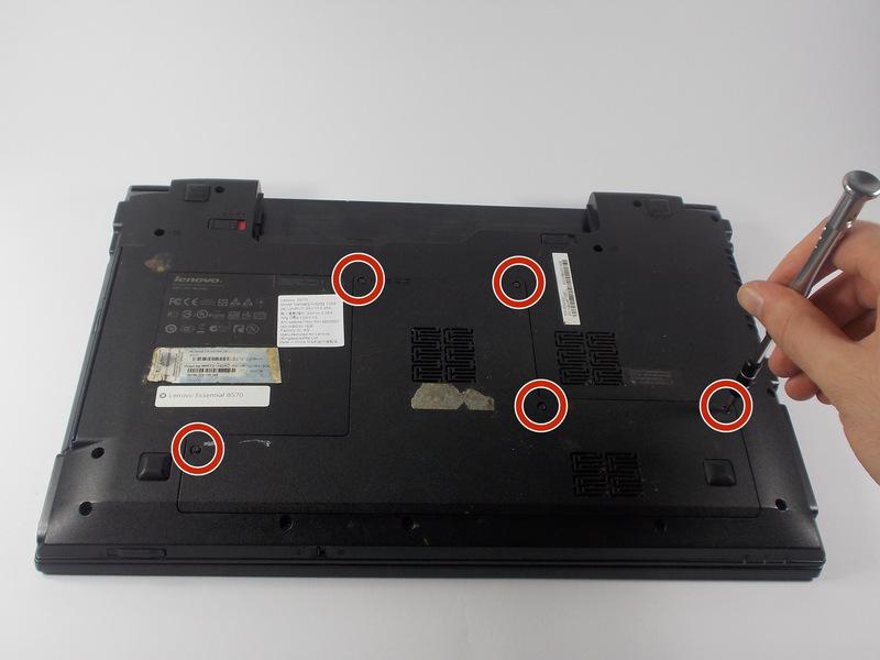 آموزش تعویض پنل پشتی Lenovo Essential B570
