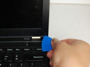 تعویض قاب در Lenovo Thinkpad x230