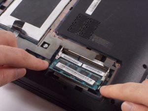 تعویض رم Lenovo Essential B570
