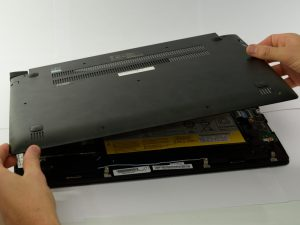 آموزش تعویض دیسک سخت Lenovo Edge 15