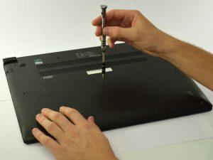 آموزش تعویض باتری Lenovo Edge 15
