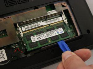 راهنمای تعویض رم Lenovo B575-1450