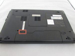 راهنمای تعویض باتری Lenovo B575-1450