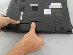 آموزش تعویض باتری Lenovo B575-1450