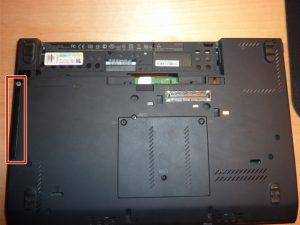 آموزش تعویض هارد دیسک Lenovo Thinkpad x230