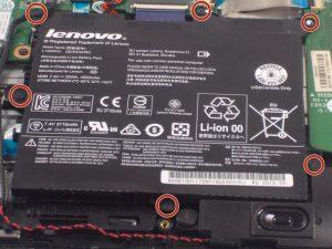 راهنمای تعویض باتری Lenovo Flex 3-1120