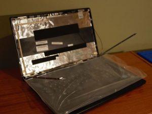 آموزش مرحله به مرحله تعویض صفحه نمایش Lenovo G570