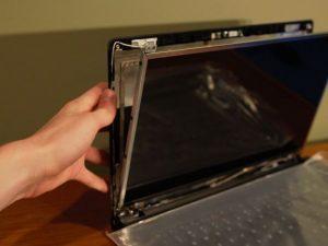 راهنمای تعویض صفحه نمایش Lenovo G570