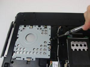 راهنمای تعویض دیسک نوری Lenovo Essential G580