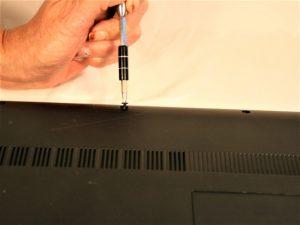 آموزش گام به گام تعویض قاب بالایی Lenovo G50-80 80E5