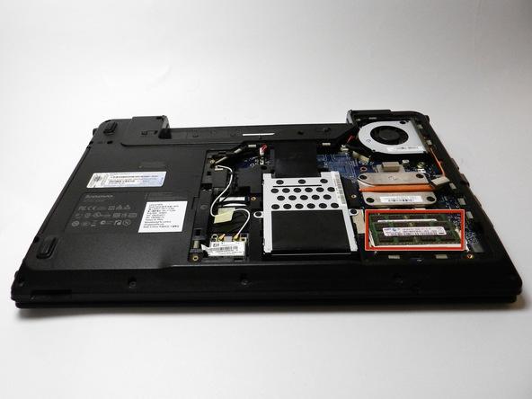 آموزش تعویض رم Lenovo Essential G560