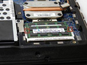 تعویض رم Lenovo Essential G560