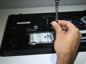 آموزش تعویض هارد دیسک LENOVO G70-35