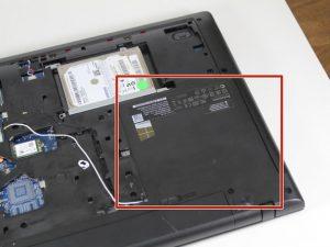 راهنمای تعویض سی دی درایو Lenovo G70-80
