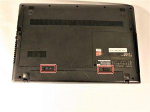آموزش تعویض قاب بالایی Lenovo G50-80 80E5