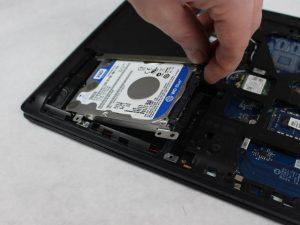 راهنمای گام به گام تعویض هارد دیسک Lenovo G40-30