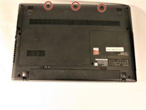 آموزش تعویض هارد دیسک Lenovo G50-80 80E5