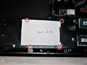 راهنمای تعویض هارد دیسک Lenovo G50-80 80E5