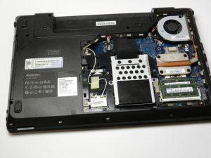 تعویض پنل پشتی Lenovo Essential G560