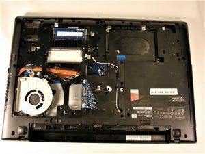 آموزش تصویری تعویض جک منبع تغذیه Lenovo G50-80 80E5