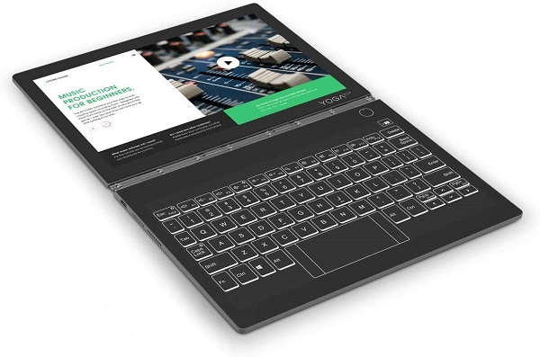 تبلت لنوو مدل YogaBook C930 YB-J912F